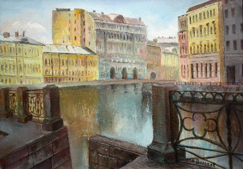 Vladimir Volosov - Moika Embankment