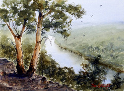 Joe Cartwright - The Rock Lookout, Nepean River NSW