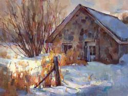 Tom Nachreiner - Snowy Stone Shed
