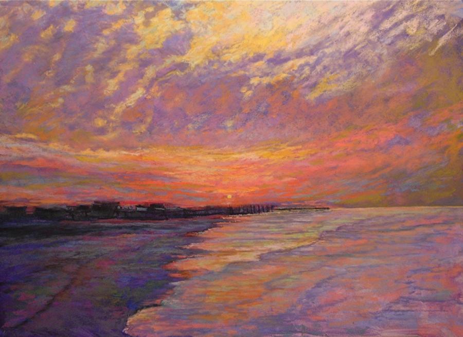 Mike Etie - Galveston Island, West Beach Sunrise