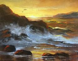 Sharon Abbott-Furze - Sunset Beach
