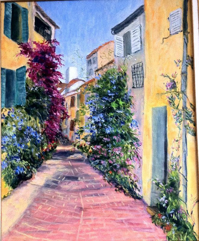 Julliette Tehrani - Old Antibes France