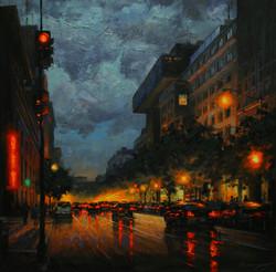 Gavin Glakas - 9th Street Looking South