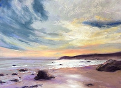 Jacquelyn Blue - Sunrise at the Cove