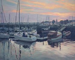 Pat Carney - Harbor Sunset