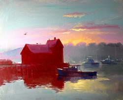 Keith Gunderson - Sunrise in Rockport