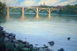 Gavin Glakas - Key Bridge (from Roosevelt Island)