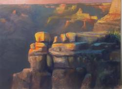 Ed Cahill - Sunset at El Tovar