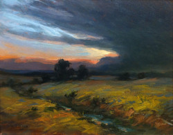 J.R. Cook - Evening Storm over Jack County