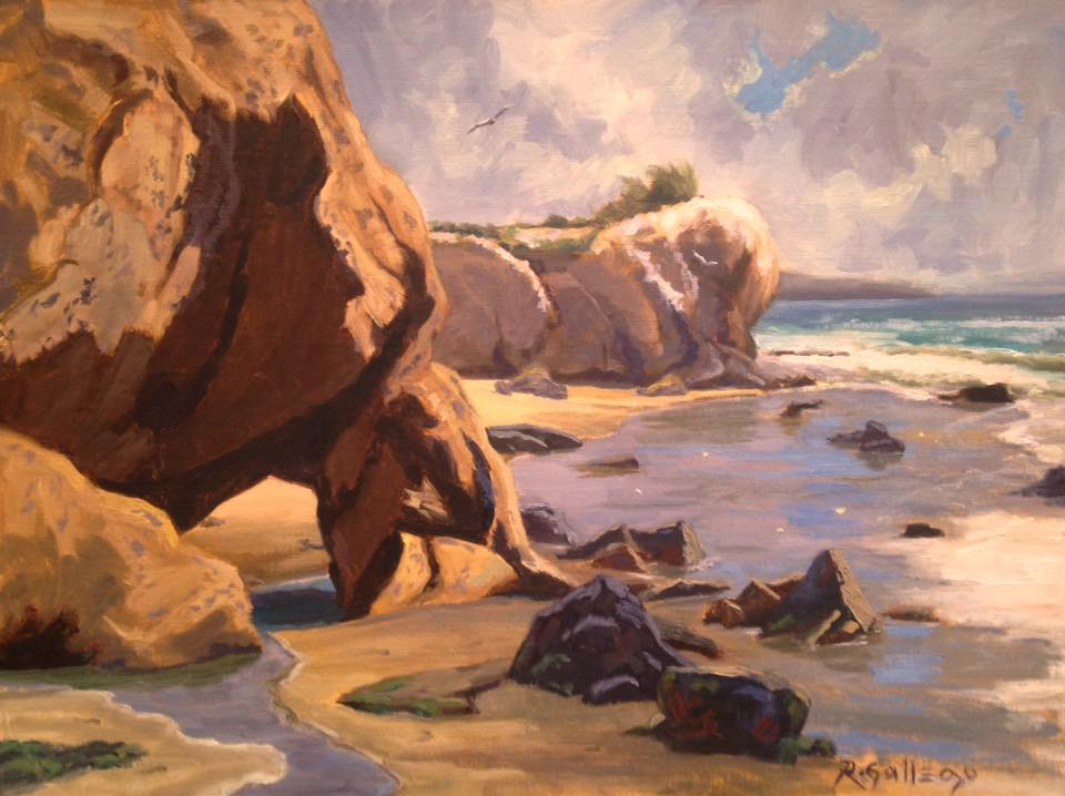Richard E. Gallego - Tidal Pools and Monoliths