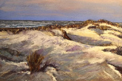 Jimm Ross - Terra Firma (Cape May Dunes) (pastel)