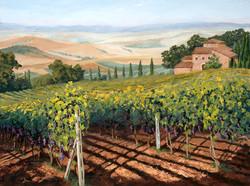 Mary M Giacomini - Tuscan Vines