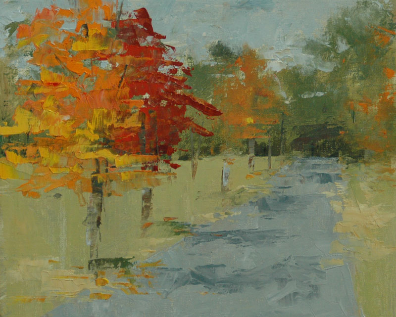 Robin Wellner - Fall Maples, Charlotte, NC