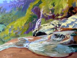 Georgie Rey - Pools at the Waterfalls