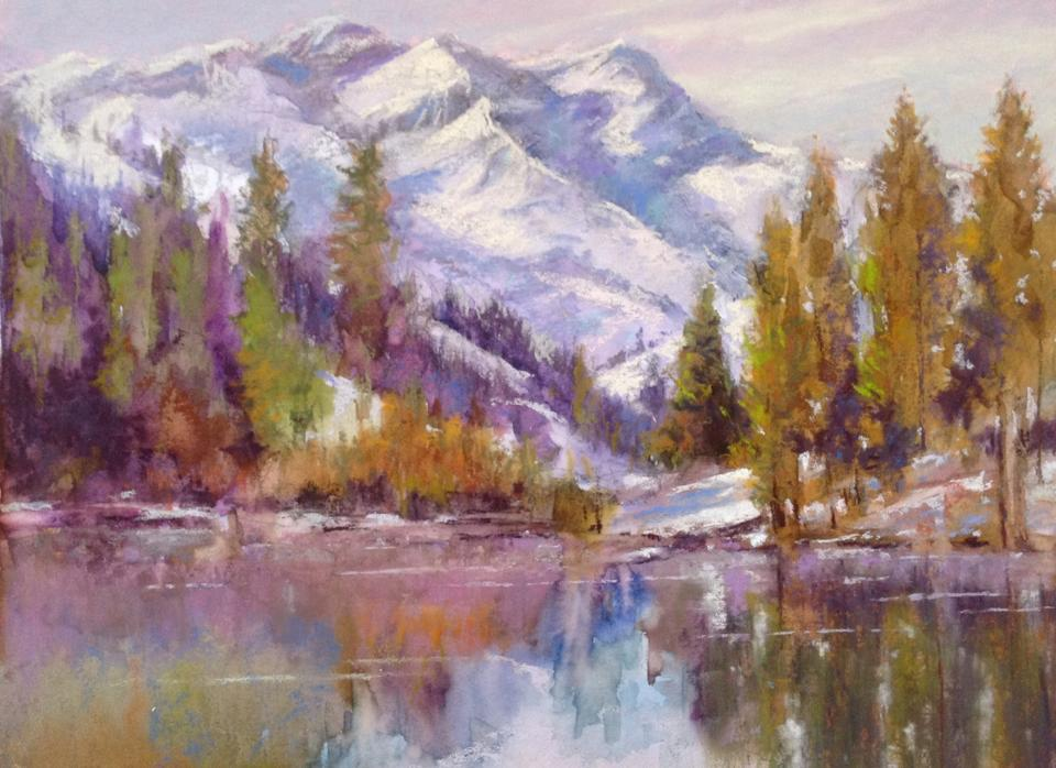 Janis Ellison - Cascade Ice
