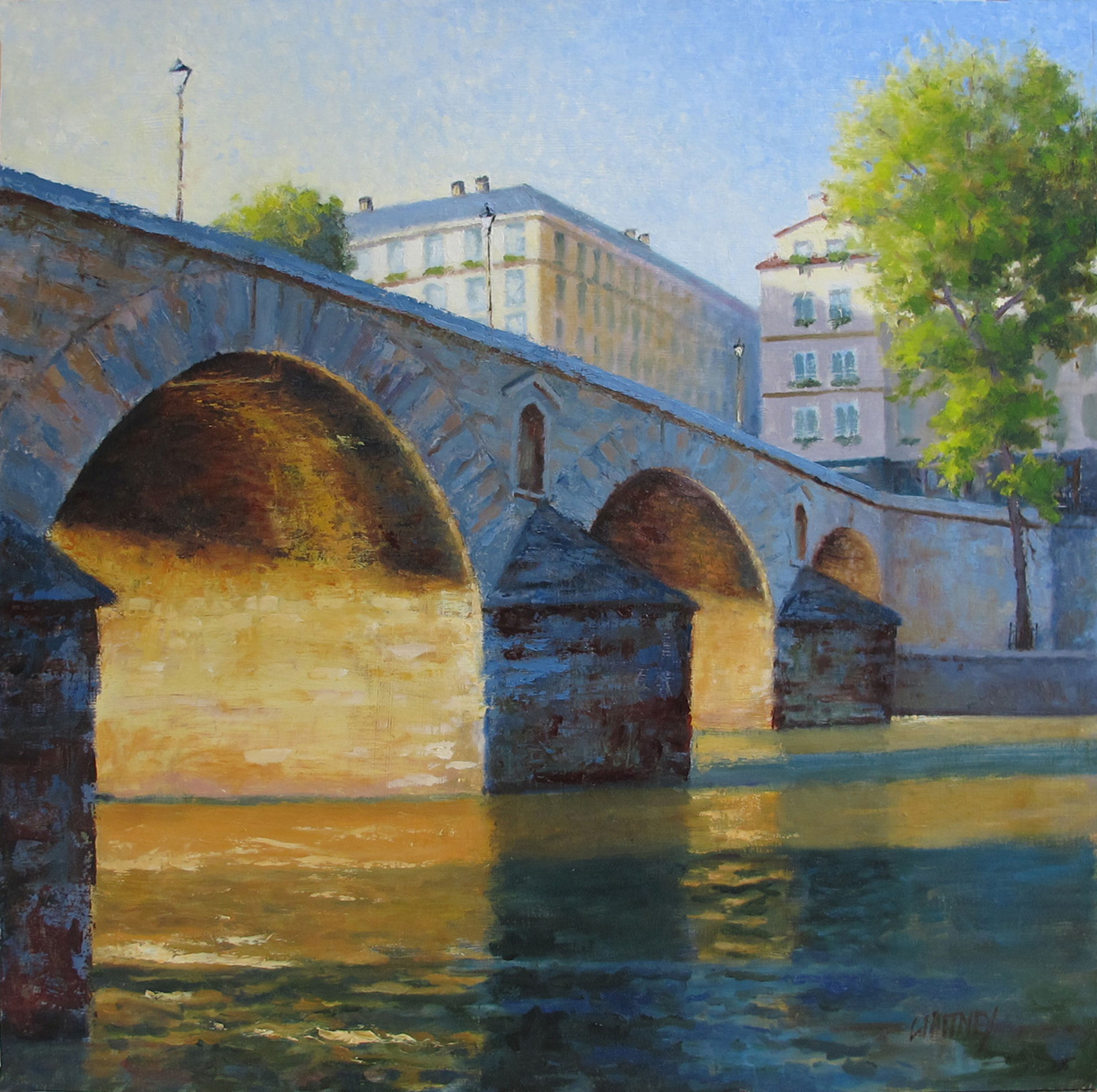 Steve Whitney - Morning Along the Seine