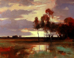 Keith Gunderson - Sunset Near Salt Point