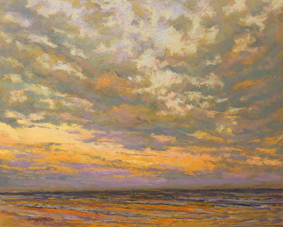 Mike Etie - Dawn on the Coast