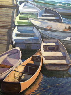 Dianna Anderson - Dories, Perkins Cove