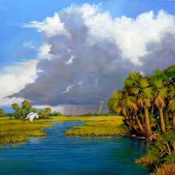 Sharon Repple - Across the Marsh