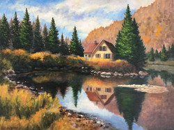Cathy Lachance - House on the Lake
