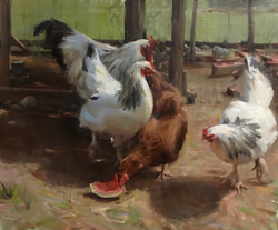 Kyle Ma - Lunchtime at the Farm