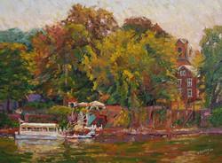 Ramona Dooley - Ferry on the Delaware