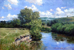 Vadim Cheliaev - Summer Day on the River