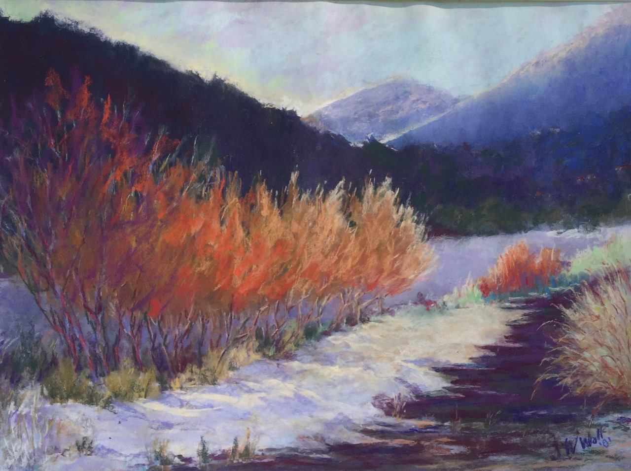 Jane Wright Wolf - Ketchum, Idaho Morning