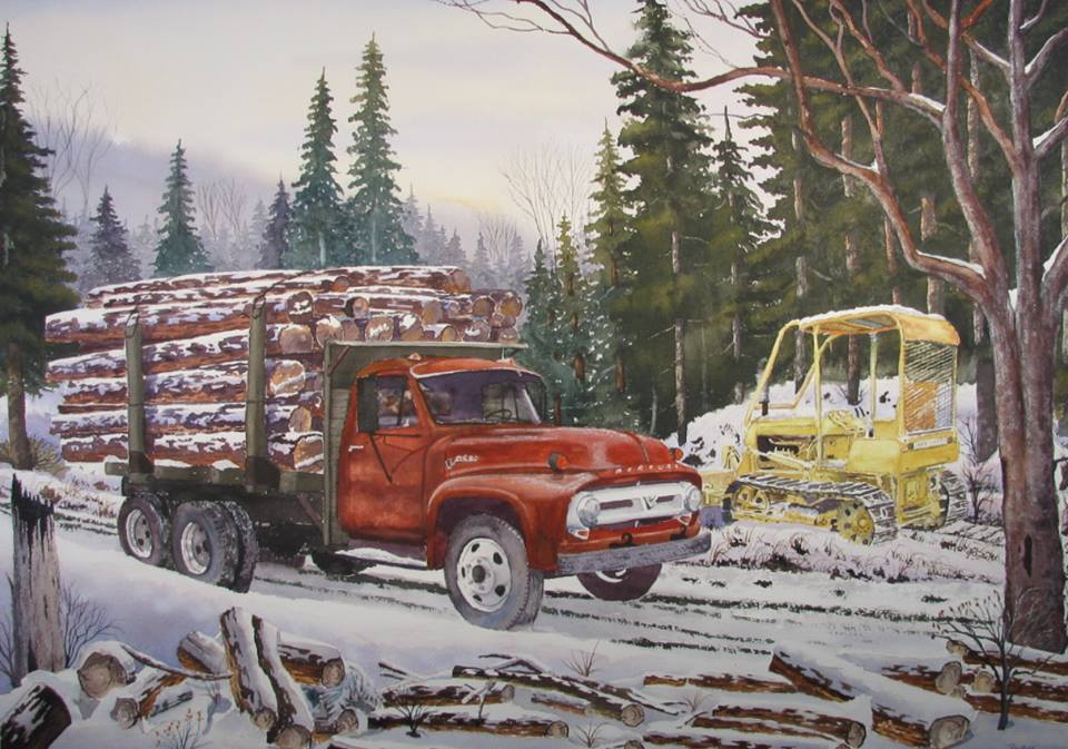 Roy Tibbits - Winter of '53