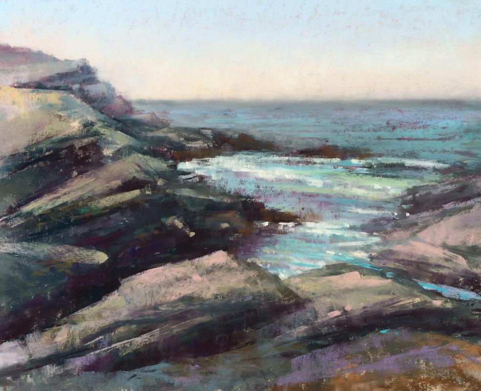 Jeanne Tangney - Brenton Point (plein air)