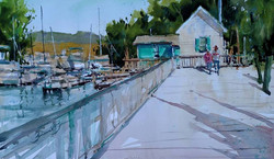Brienne M Brown - Sunny Boardwalk