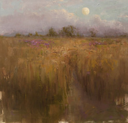 Devin Roberts - Early Evening on the Tall Grass Prairie