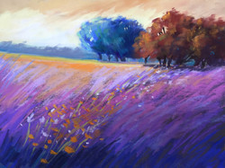 Sherri Cassell - Colorful landscape