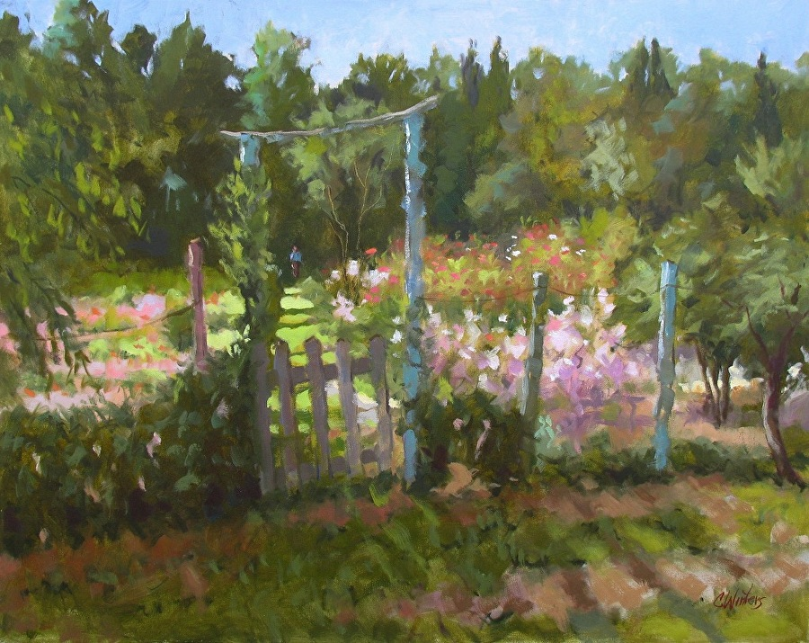 Connie Winters - Garden by the River