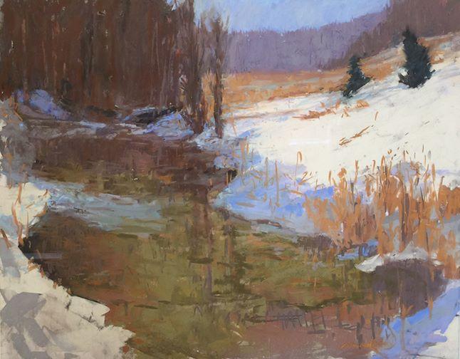 Carol Strock Wasson - Winter Creek