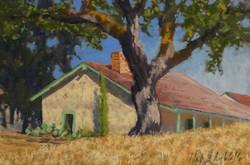 Clark Mitchell - Alviso Old Adobe (plein air)