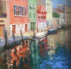 Oksana Johnson - Reflections (Venice)
