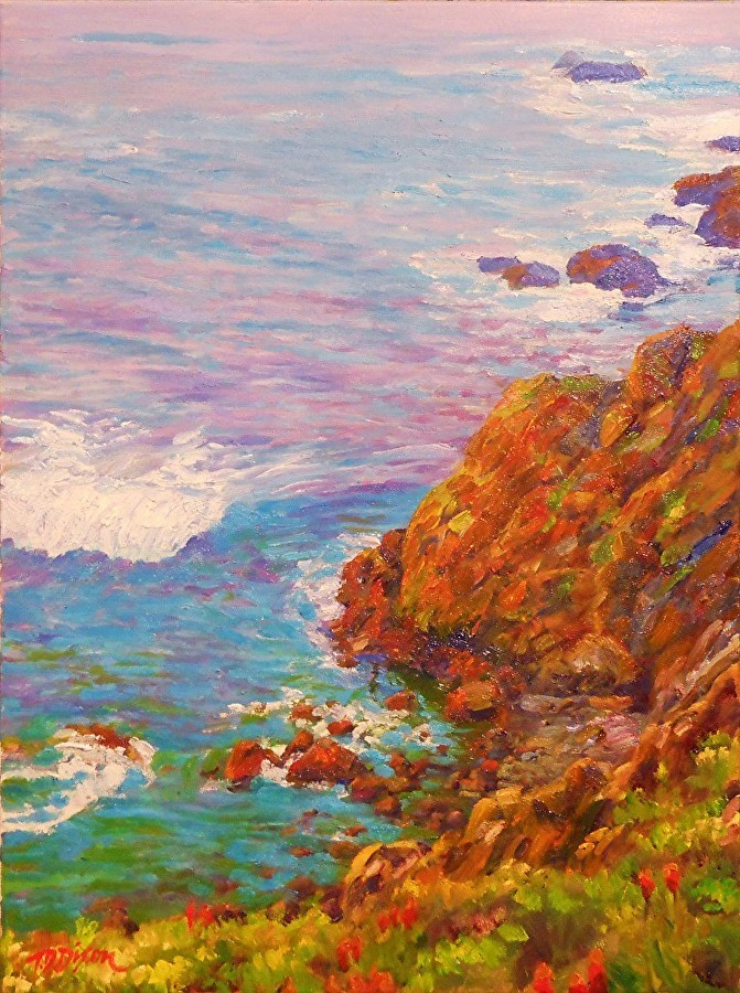 Timothy David Dixon - Coastal Color