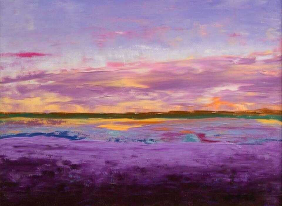 Lindy Wiese - Purple Sunset II