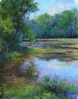 Lana Ballot - Peconic River Herb Farm (plein air)