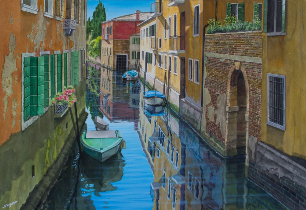Freda Surgenor - Quiet Spot, Venice