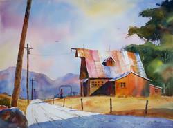 Jim Oberst - Barn in Mountain View, Arkansas