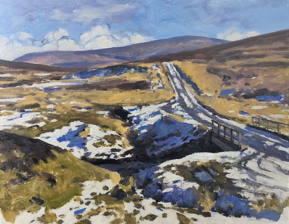 David Deamer - Thawing Snow, Staffin Road
