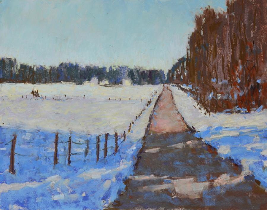 Carol Strock Wasson - Winter Shadows