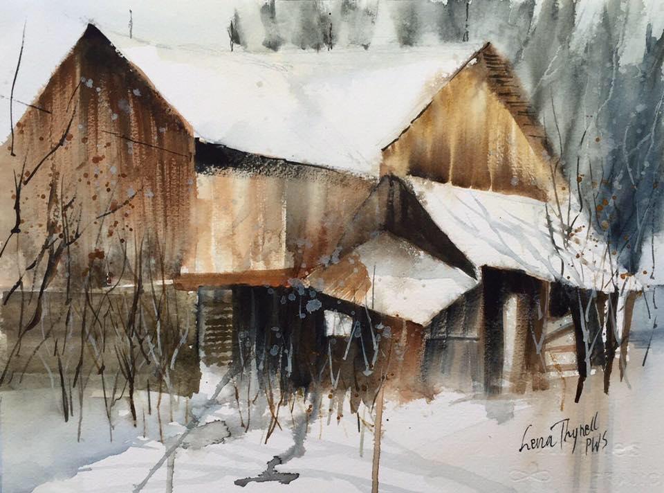 Lena Thynell - Forgotten Barn