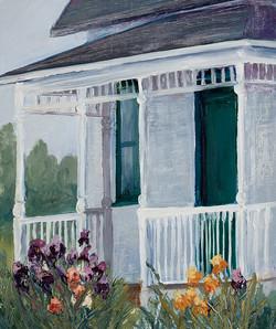 Mary M Giacomini - Mrs. Milner's Irises