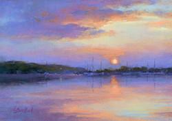 Lana Ballot - Sunset at Cedar Beach, NY