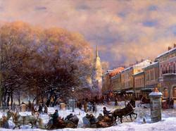 Alexander Shevelev - The Volga Embankment