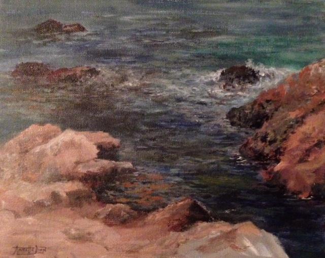 Annette D McGowan - Point Lobos Calm